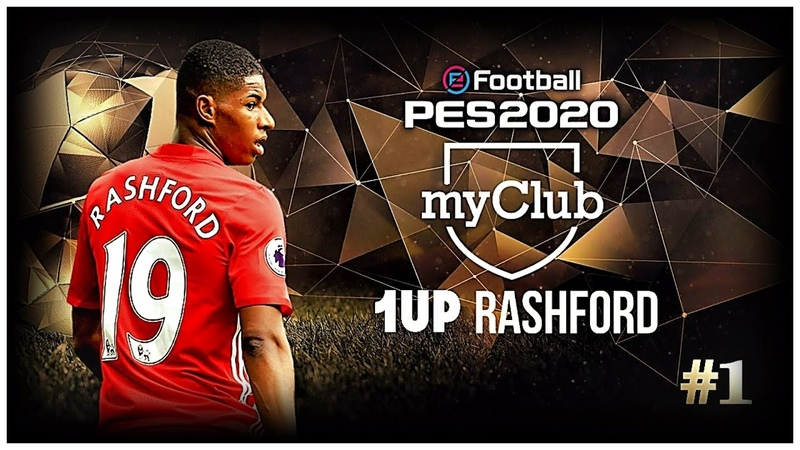 PES 2020 MyClub 1UP Rashford 1