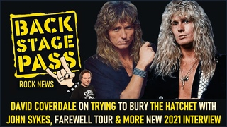 DAVID COVERDALE ON TRYING TO BURY THE HATCHET WITH JOHN SYKES, FAREWELL TOUR & MORE NEW INTERVIEW
