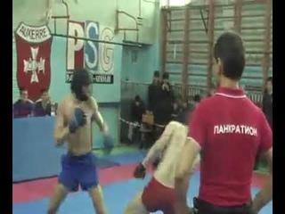 Чемпионат Пермского края по Панкратиону2011 Финал Васкецов М  и Навалихин Д