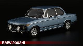 The Ultimate Driving Machine: BMW 2002tii L /// AUTOart /// Масштабные модели автомобилей 1970х 1:43