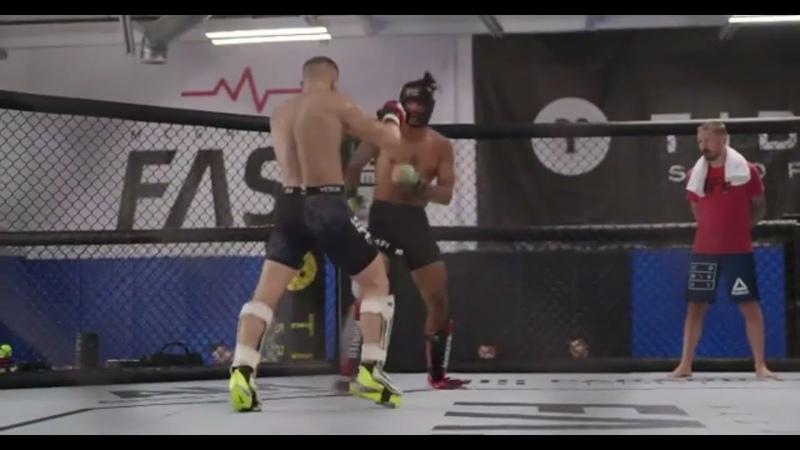 Конор Макгрегор показал отличный бой восстановление тренировка после травмы Новости UFC