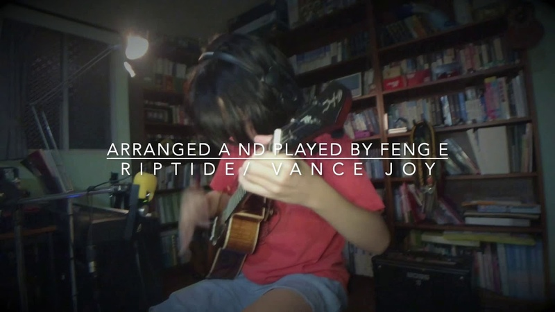 Riptide Vance Joy, arranged and played by Feng E