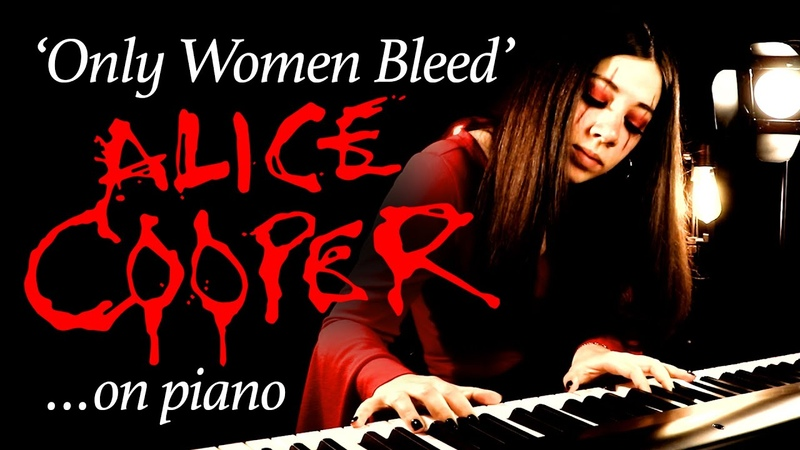 'Only Women Bleed' Alice Cooper Piano Rendition by Daydreamer