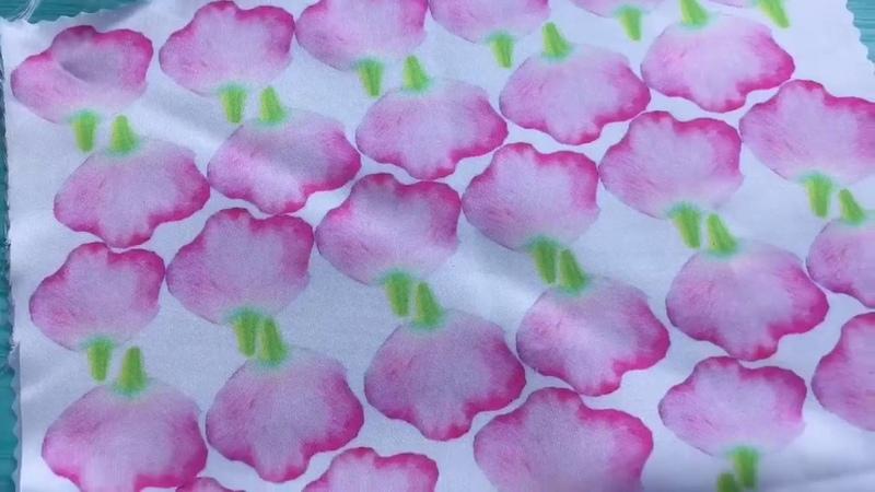 Роза из искусственного шёлка silk flowers