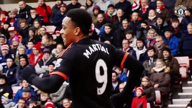 Все 50 голов Антони Марсьяля в футболке «Манчестер Юнайтед»