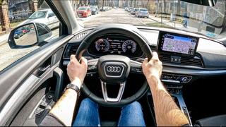 Audi Q5 204 HP | POV Test Drive