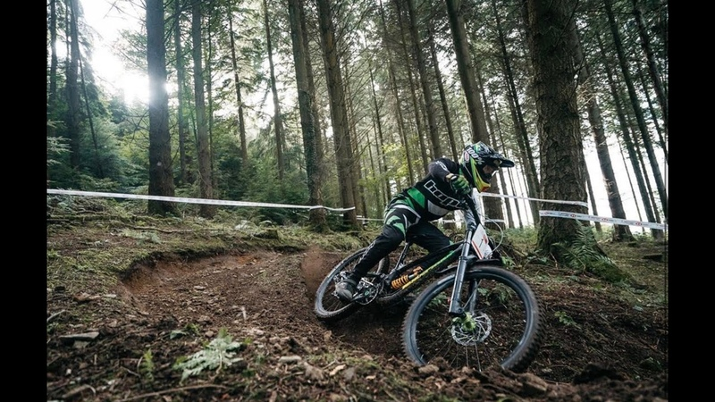 Trackside RAW Carnage at Round 4 of the British Downhill Series Hopton 2019