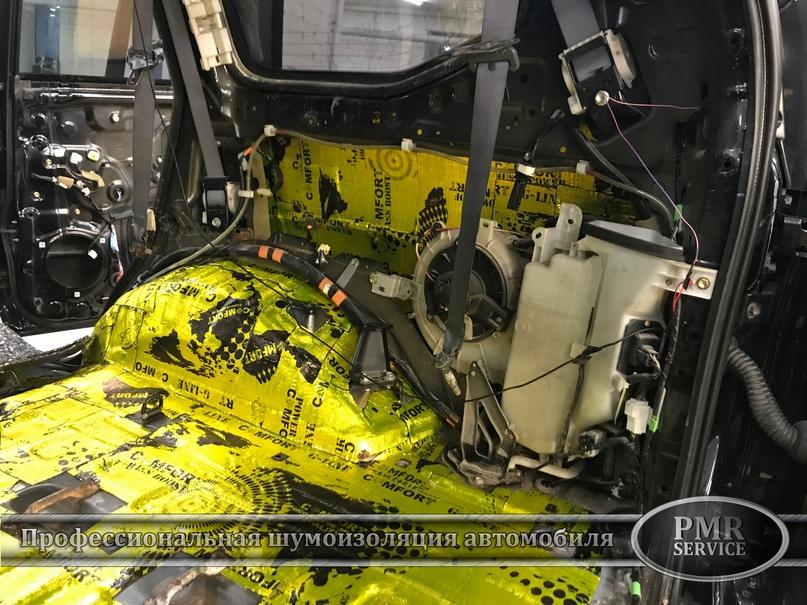 Комплексная шумоизоляция Toyota Land Cruiser 120, изображение №14