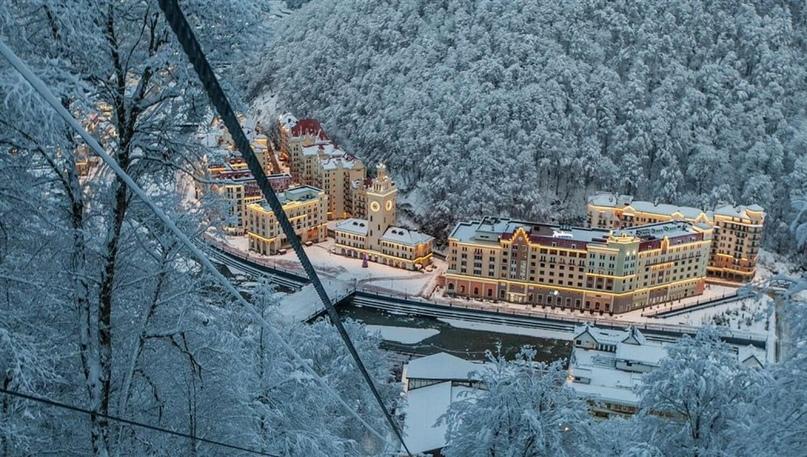 Горнолыжные курорты Красной поляны, изображение №1