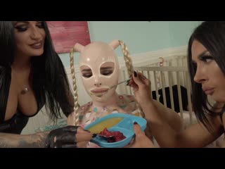 Natalie mars goddess tangent mistress damazonia training the baby-gimp 2 daddys home