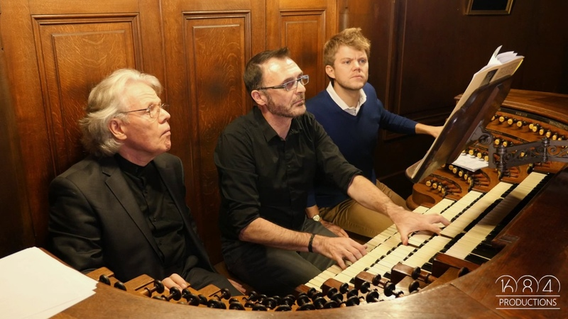 Saint Sulpice organ Yves Castagnet plays Widor's Finale from 8th Symphony Oct 2016