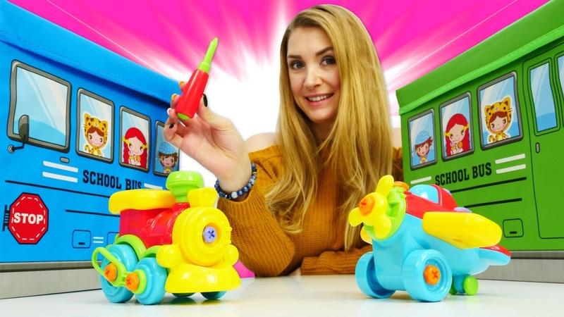 Chase von der Paw Patrol sucht sein Auto Spielzeug Video mit Katja