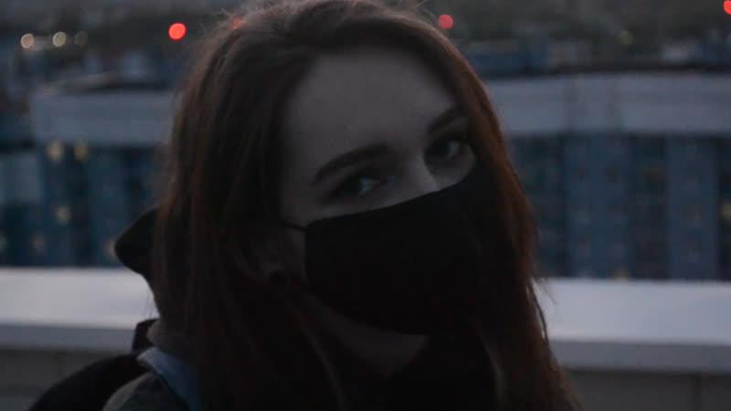 Девушка на Движе   Шатаем Гомель