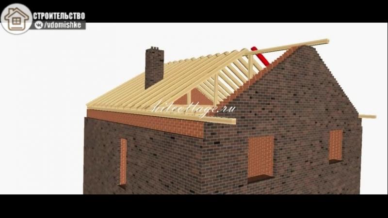 Поймут все - пошаговое строительство крыши