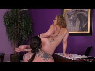Sara Jay - Mean Bitch Boss [Femdom, Pussy Licking, Handjob, Cumshot, FaceSitting, Ass Licking, Rimming, Foot Licking]
