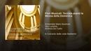Fiori Musicali: Toccata avanti la Messa della Domenica