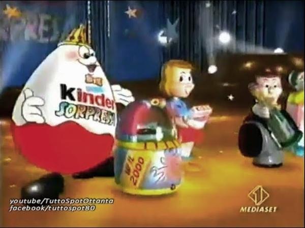 Spot - Sorprese KINDER di Capodanno Viva il 2000 - 1999