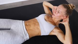 Madie Lymburner - 15 MIN SIXPACK WORKOUT (No Equipment)   Тренировка на прокачку пресса для рельефности