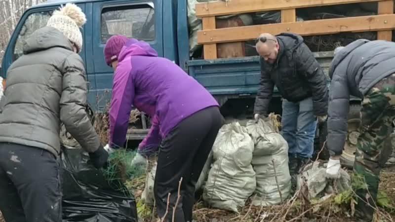 Уборка мусора на территории Хехцирского заказника.mp4