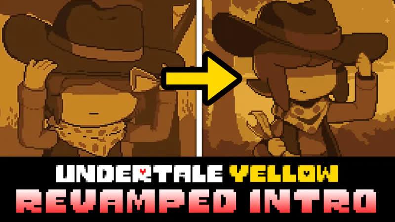 Undertale Yellow - Обновленное Интро