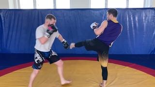 Защита от ударов ногами