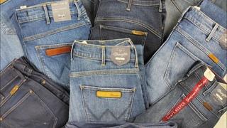 Брендовые женские джинсы сток. Wrangler Лот 805 ( 10 шт.) Цена 25 евро/шт.
