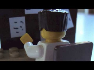 How Mulder and Scully First Met - Lego