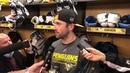 Penguins Locker Room: Erik Gudbranson Smiled About Scrapping w Tom Wilson | PHN