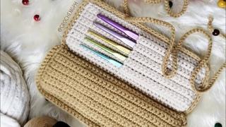 Crochet Hook Case TUTORIAL for Tulip Sorbet Crochet Hooks set - Part 1
