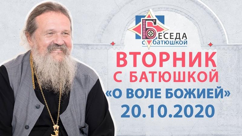 Вторник с Батюшкой 20 10 2020 Беседа о Андрея с прихожанами О воле Божией