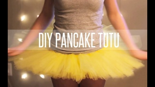 HOW TO MAKE A TUTU STIFF (PANCAKE TUTU)