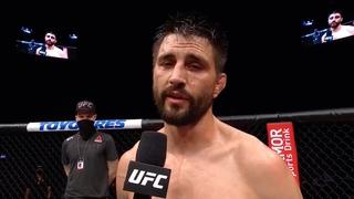 UFC Fight Night: Карлос Кондит - Слова после боя