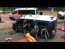 Police officers disguised as hooligans during the anti lockdown demo in The Hague? 21-06-2020