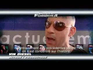 Michelle Rodriguez, Vin Diesel, Jordana Brewster and Paul Walker Interview Fast & Furious 4