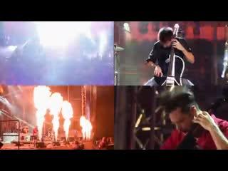 2CELLOS сыграли на виолончелях Michael Jackson - They Dont Care About Us