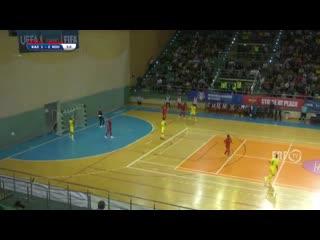 Обзор матча  Казахстан  Румыния - 4-2.  Чемпионат мира. Квалификация. Основной раунд!