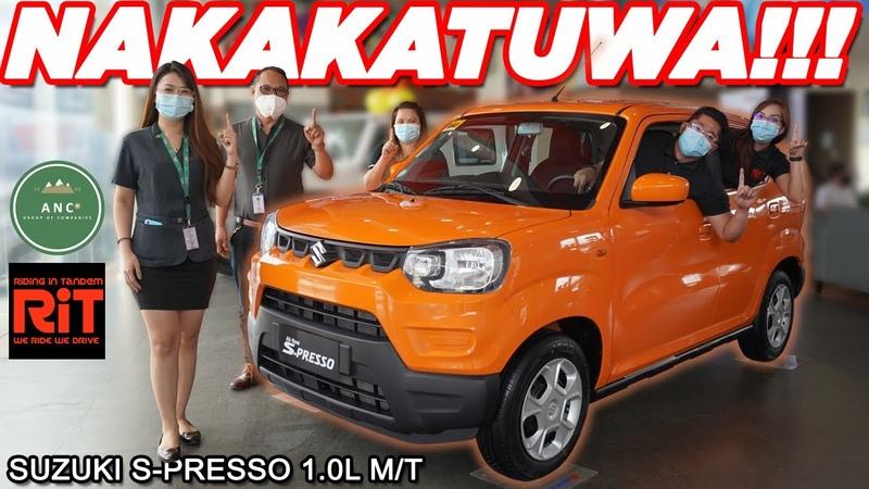2020 Suzuki S-PRESSO 1.0L MT Review Philippines Budget Car Philippines w Suzuki ANC