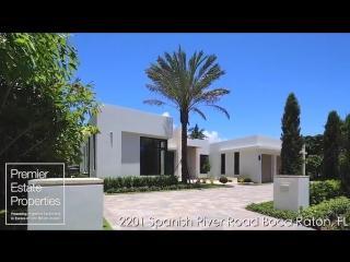 Современный роскошный дом во Флориде Luxury Homes - Modern Intracoastal Estate -