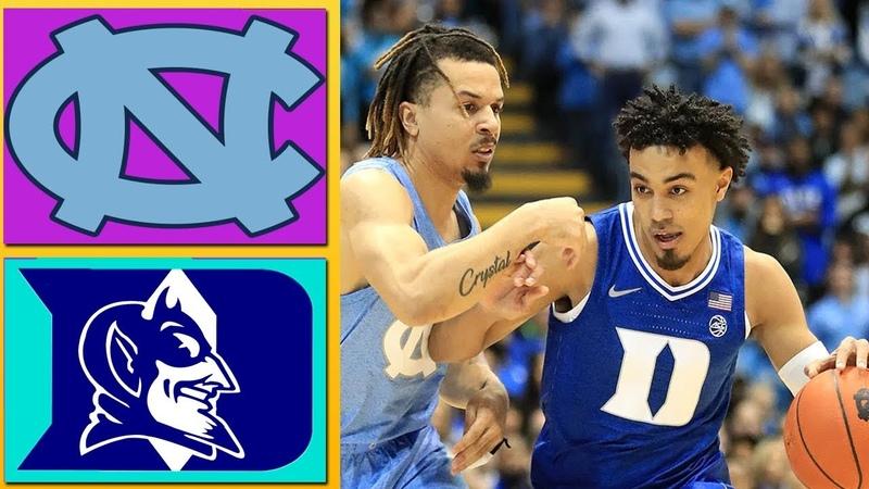 Duke vs North Carolina Full Game Highlights February 8 2020 Men's College Basketball