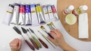 Живопись маслом. Инструменты и материалы для масляной живописи. Уроки для начинающих. Найди себя.