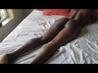 Ebony Teen has Wet Sex, Multiple Orgasms and SQUAT RIDES until CREAMPIE