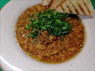 🇬🇷 Факоризо (чечевичная каша с рисом) - Греческая кухня