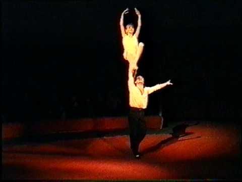 Acrobatic Adazio 1996g Circus group Jauniba Latvija Riga Juliana Gennadij