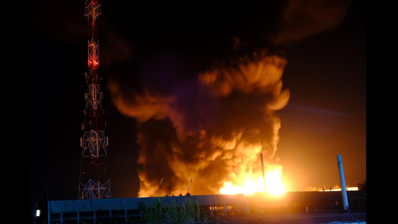 Пожар на Механизаторов