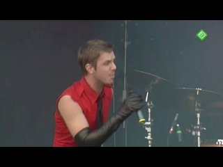 Scissor sisters take your mama out (live pinkpop 2007)