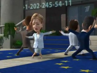 "Мультличности - Хилари Клинтон, ""Позвони мне, позвони!"""