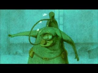 Дом из маленьких кубиков (Философский мультфильм японского режиссера о глубинах нашей памяти.)