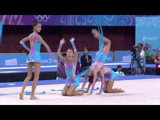 Womens group final rhythmic gymnastics singapore 2010 youth games