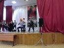 Танец мальчиков 9х классов на выпускной,репециция :D