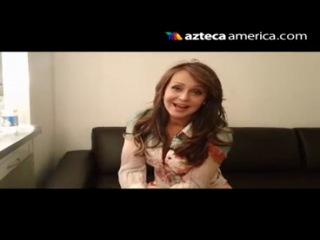 Gaby Spanic invitando a ver emperatriz may 17 2012